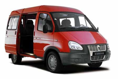 Автомобиль ГАЗ-22171 СОБОЛЬ автобус 10 мест