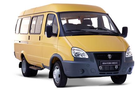 ГАЗ-32217 ГАЗель 4х4 полноприводный автобус 8 мест