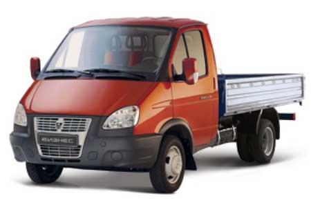 Автомобиль ГАЗ-330202 ГАЗель бортовой 4м
