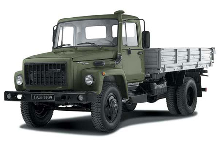 Грузовик ГАЗ-3309 бортовой