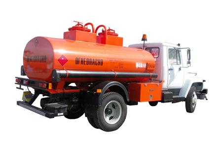 двухсекционный автотопливозаправщик газ-3309