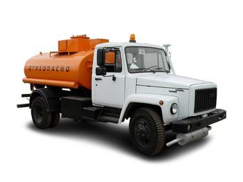 автотопливозаправщик АТЗ ГАЗ-3309